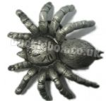 3D SPIDER - TARANTULA BELT BUCKLE + display stand. Code PM3